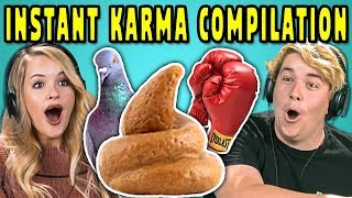 Download ADULTS REACT TO INSTANT KARMA COMPILATION #2 Video