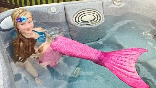 Download The day Princess Ella become a real mermaid. She has to be rescued by Batman. W/ blind bags Video
