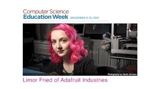 Download Computer Science Education Week: Limor Fried of Adafruit Video