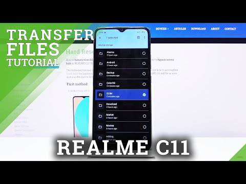 How to Transfer Files in REALME C11 – Move Data