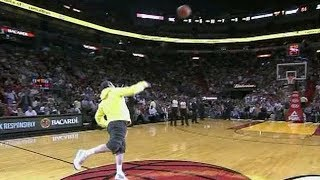 Download NBA Fans Making Half Court Shots For Money/Cars Compilation Video