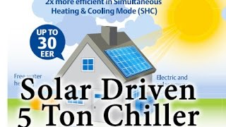 Download Solar Driven 5 Ton Chiller Video