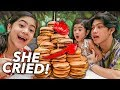 Download BURGER Cake Birthday Surprise To Natalia!! (She Cried) | Ranz and Niana Video
