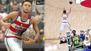 Download NBA 2k17 MyTeam - Steph Curry Perfect Half Court Shot! 95 OVR Diamond! Most OP Card In The Game! Video