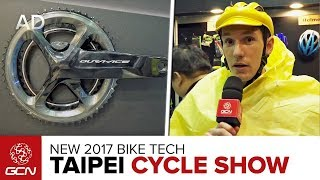 Download Tech Extra: New Road Bike Tech At The 2017 Taipei Cycle Show Video