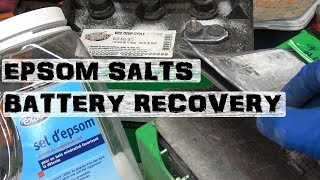 Download Recover Lead Acid Batteries | Desulfate using Epsom Salts Video