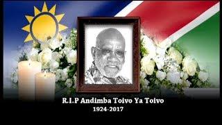 Download Memorial service of Andimba Toivo ya Toivo Video