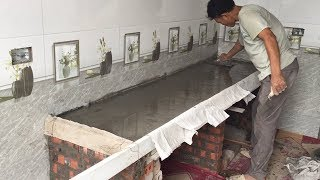 Download Building Kitchen Cooking Table Traditional - Techniques Install Kitchen Table, Beautiful and Easy Video