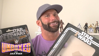 Download Zack Ryder opens up Hasbro's ″Star Wars″ 40th Anniversary Legacy Pack: WWE Unboxed with Zack Ryder Video