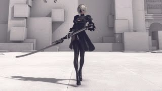 Download 【NieR:Automata】2B 全武器モーション鑑賞動画 All actions(Moveset) Video
