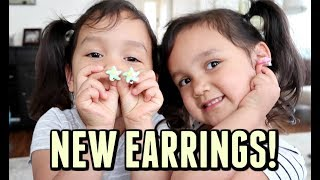 Download MIYA AND KEIRA TALK ABOUT EARRINGS! - ItsJudysLife Vlogs Video