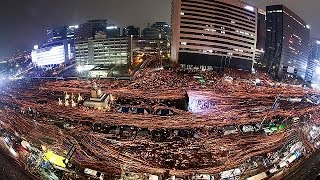 Download South Korea sees largest protest in weeks of demos against president Park Geun-hye Video