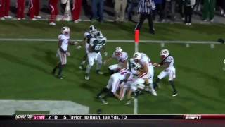 Download Michigan State Hail Mary Touchdown Keith Nichol To Beat Wisconsin 2011 HD Video