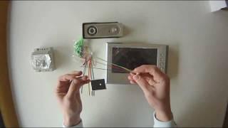 Download Genway doorphone 4-wire system Video