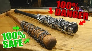 Download -DIY- 100% SAFE Fully Realistic LUCILLE (The Walking Dead) + Ultra Lucille 2.0 Video