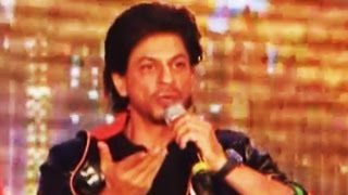 Download Shahrukh Khan SHOUTS at Reporter at Happy New Year Trailer Launch Video