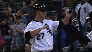 Download Josh Fields belts a homer in his first MLB at-bat Video