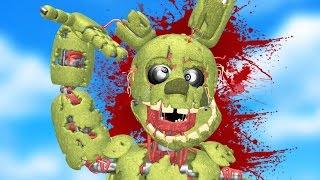 Download DEATH OF SPRINGTRAP! (Gmod FNAF Sandbox Funny Moments) Garry's Mod Video