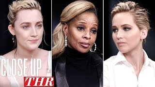 Download Full Actresses Roundtable: Saoirse Ronan, Jennifer Lawrence, Mary J Blige | Close Up With THR Video