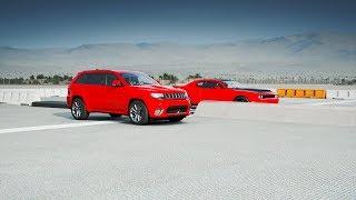 Download 2018 Jeep TRACKHAWK vs Dodge HELLCAT Drag Race! Forza 7 Video