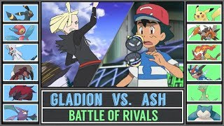 Download Ash vs. Gladion (Pokémon Ultra Sun/Moon) - Alola Battle of Rivals Video