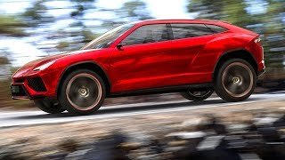 Download Lamborghini URUS SUV 2018 Teaser Video Lamborghini SUV 2018 LM002 + Miura CARJAM TV Video