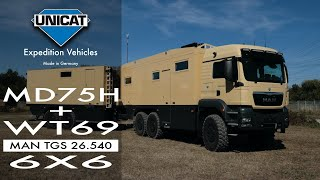 Download UNICAT Expedition Vehicles MD75HMB+WT69 - MAN TGS 26.540 6X6 Video
