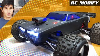 Download RC Modify 2   HPI Dodge Charger Body on Traxxas E-REVO Video