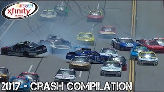 Download Nascar Xfinity Series - 2017 - Crash Compilation Video