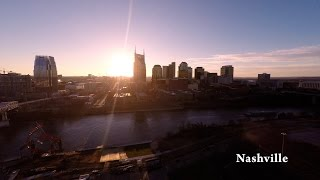 Download Nashville TN by Drone in 4K Video