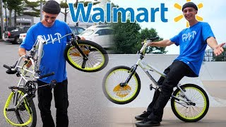 Download WE BOUGHT AN $80 WALMART BMX BIKE DESTROYED IT AND THEN RETURNED IT! (PART 2) Video