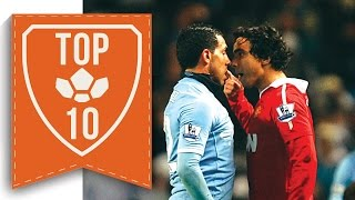 Download TOP 10 Shocking Moments Between Man United and Man City Video