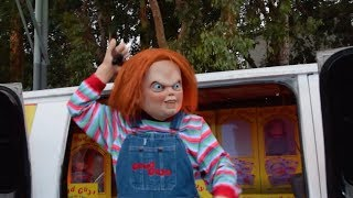 Download Titans of Terror Tram: Hosted by Chucky, Halloween Horror Nights 2017, Universal Studios Hollywood Video