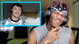 Download Reacting to KSI reacting to my ″INSECURE″ DISS TRACK! Video