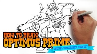 Download How to Draw Optimus Prime | Transformers Video