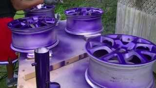 Download Custom painted SER rims Video