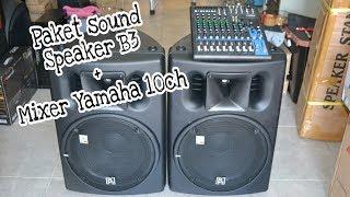 Download Paket Speaker Aktif Beta3 Murah !! Video
