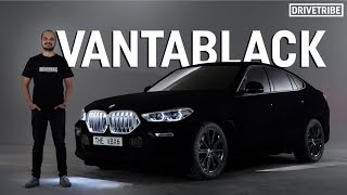 Download This Vantablack BMW is the darkest car in the world Video