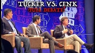 Download FULL Tucker Carlson vs. Cenk Uygur of Young Turks Debate - Politicon 2018! (Audio & Video) Video