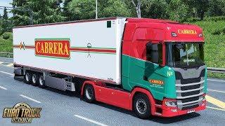 Download ✅ ETS2 - Scania S450 + Chereau CABRERA Skin Pack Video