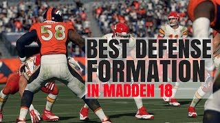 Download Best Defensive Formation In Madden 18 Video