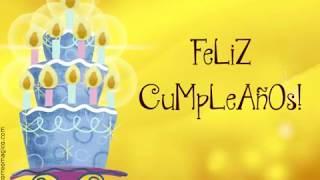 Download Tarjeta animada de Feliz Cumpleaños Video