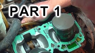 Download Top End Rebuild Again: PART 1 of 2, 2002 MXZ 700 Video