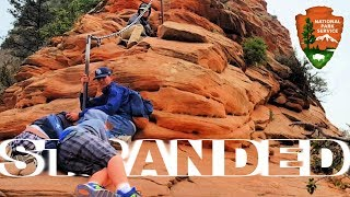 Download Angels Landing Hike - STRANDED AT THE TOP! Video