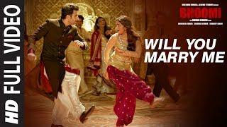 Download Will You Marry Me Full Video Song | Bhoomi |Aditi Rao Hydari, Sidhant | Sachin - Jigar |Divya&Jonita Video