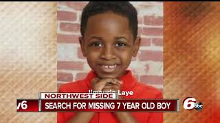 Download 7-year-old Indy boy went missing after getting off the school bus near his home Video