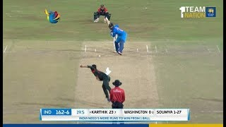 Download Nidahas Trophy 2018 Final Match, Final Over - India vs Bangladesh Video