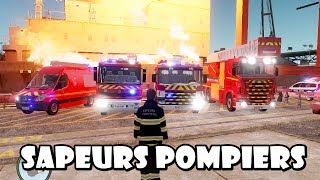 Download GTA IV - Sapeurs Pompiers / French Fire Dept responding to a navy on fire Video