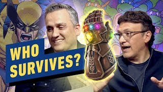 Download Which X-Men and Ninja Turtle Would Survive the Avengers' Russo Bros Snap? Video