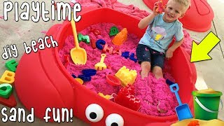 Download Beach in Our Backyard Playtime!! Video